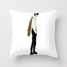 Doctor Matt Smith Throw Pillow
