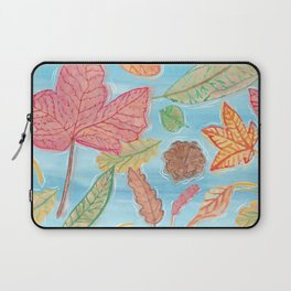 Leaves in the lake Laptop Sleeve
