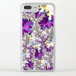 Hallucinatory Fractal Clear iPhone Case