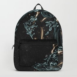 Water and fire. Backpack