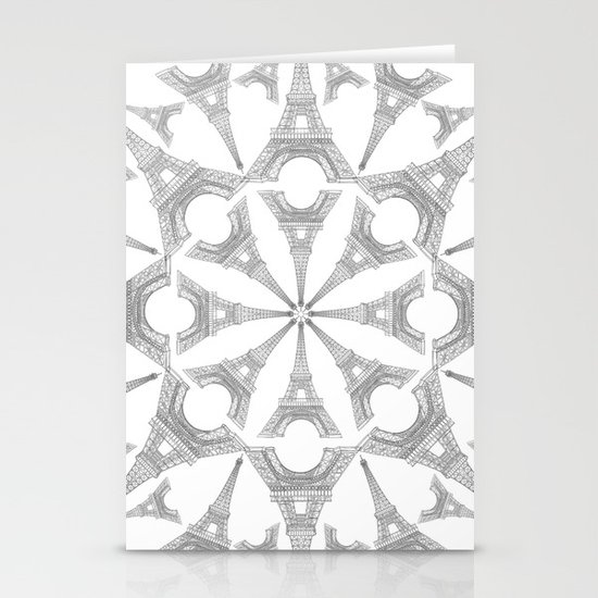 Paris in a Kaleidoscope Stationery Cards
