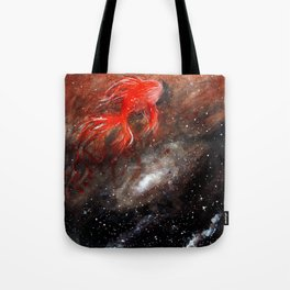 goldfish cosmos Tote Bag