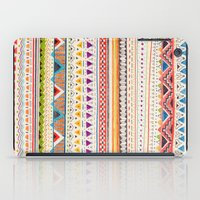 rug iPad Cases featuring Pattern by Sandra Dieckmann