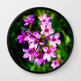 Spring Sweetness Wall Clock