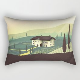 Tuscany Fairytale Rectangular Pillow