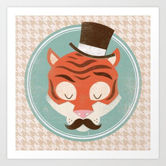 Uncommon Creatures - Tiger Art Print