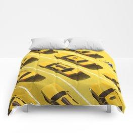 New York Cabs Comforters