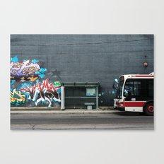 Queens Quay, Toronto Canvas Print