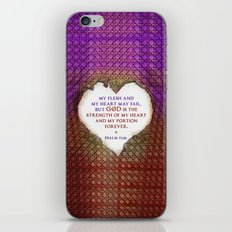The Strength of My Heart iPhone & iPod Skin