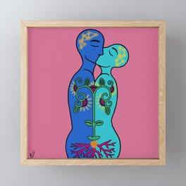 Loving Framed Mini Art Print