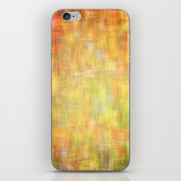 Garden colors abstract texture iPhone Skin
