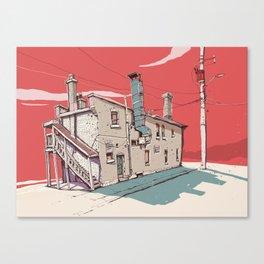 4 p.m Canvas Print