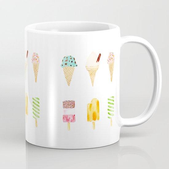 ice cream selection Mug