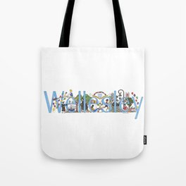 Wellesley College by Stephanie Hessler '84 Tote Bag