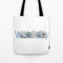 Wellesley College by Stephanie Hessler '84 Tote Bag