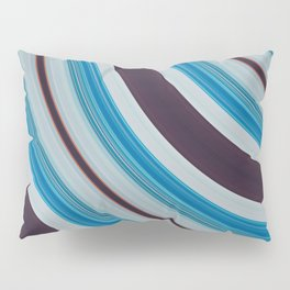 Blue, white and purple Pillow Sham