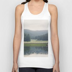 Horses in the Great Smoky Mountains Unisex Tank Top