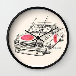 Crazy Car Art 0169 Wall Clock