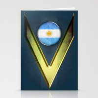 argentina Stationery Cards featuring Argentina by ilustrarte