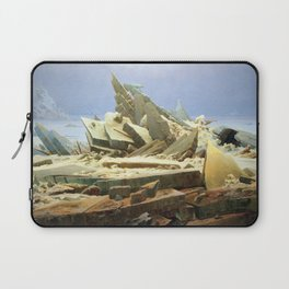 Caspar David Friedrich Sea of Ice Laptop Sleeve