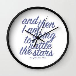 Rattle the Stars Wall Clock