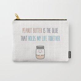 Peanut butter vegan Carry-All Pouch
