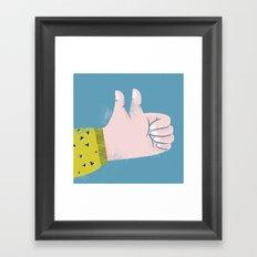I double like you! Framed Art Print