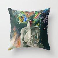 archan nair Throw Pillows featuring Ia:Sija by Archan Nair