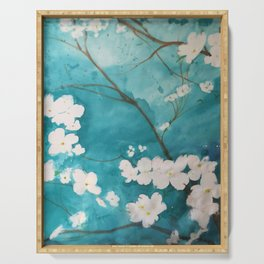 Shannon's Dogwood Serving Tray