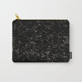 Constellations Map, Stars, Astronomy Cosmos Galaxy Carry-All Pouch