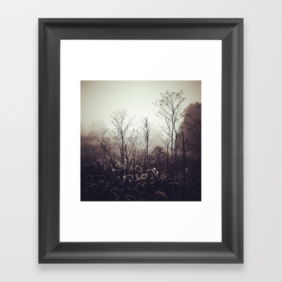 Morning Meditation Framed Art Print