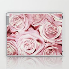 Beautiful bed of pink roses- Floral Rose Flowers Laptop & iPad Skin