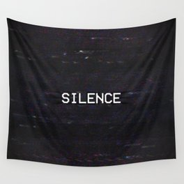 SILENCE Wall Tapestry