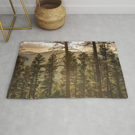 Mountain Forest New Mexico - Nature Photography Rug