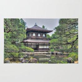 Ginkaku-ji Temple Kyoto Japan Rug