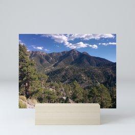 Mount Charleston   Mountains   Blue Sky   Forest   Trees   Nature   Outdoors   Landscape Mini Art Print