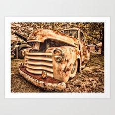 Old pickup ( Photo by Antal Ullmann ) Art Print