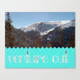 Venture Out Canvas Print