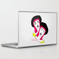 rogue Laptop & iPad Skins featuring ROGUE by Sarah Marie