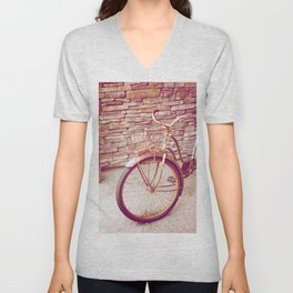 Rusty Spokes Unisex V-Neck