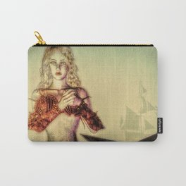 The Lonely Mermaid Carry-All Pouch