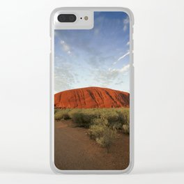 Ayers Rock in Australia Clear iPhone Case