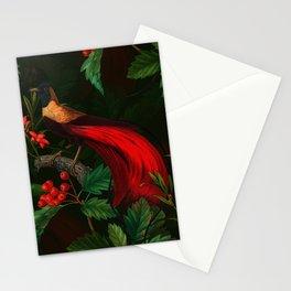 Vintage & Shabby Chic - Paradise Bird Night Flower Garden Stationery Cards