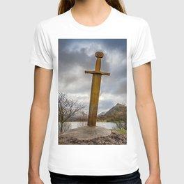 Sword of Llanberis Snowdonia T-shirt
