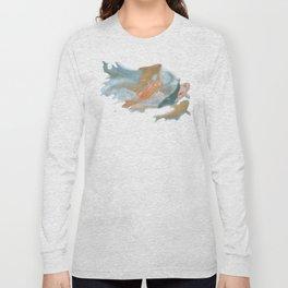 koi {white} Long Sleeve T-shirt
