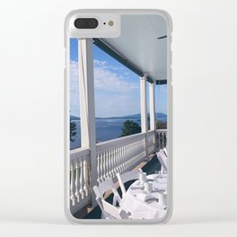 The Sagamore at Lake George - view 4 Clear iPhone Case
