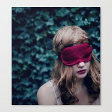 Wanting only to dream Canvas Print