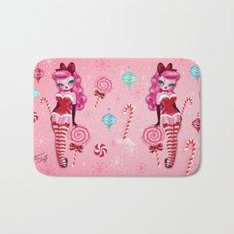 Christmas Sugar Doll Bath Mat