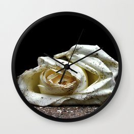 Beauty In the ashes Wall Clock