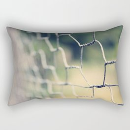Dreamy Fence Rectangular Pillow